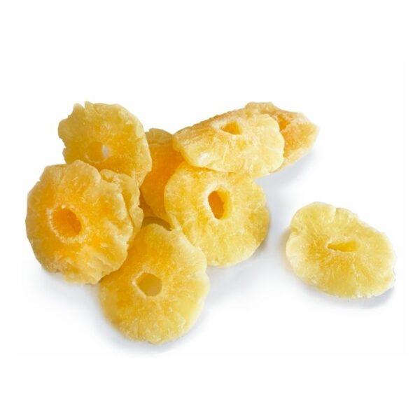 cukruoti anansu ziedai