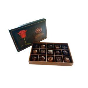 Šokoladinių saldainių rinkinys 15 vnt.